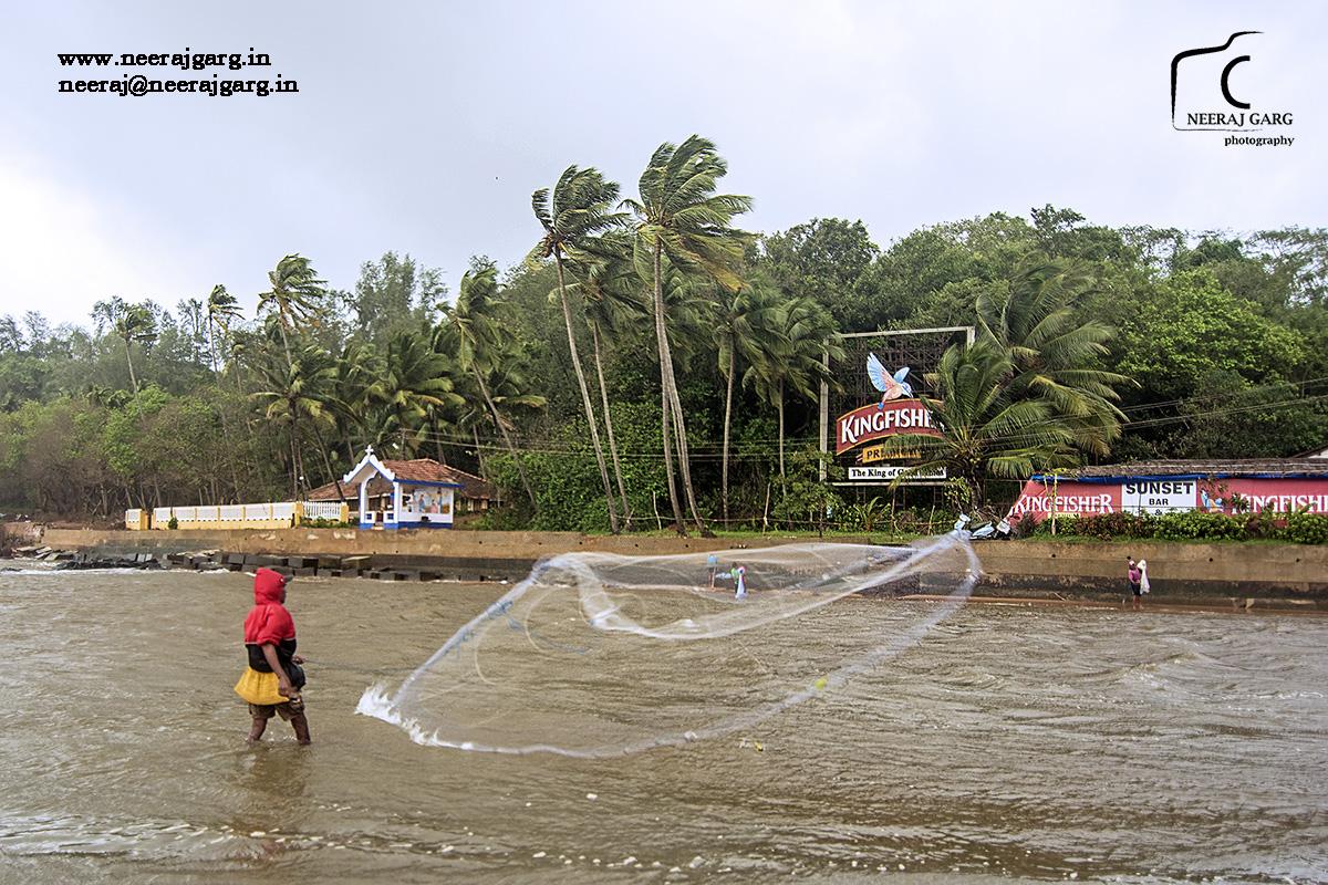 Fisherman's net 02 - Goa Series
